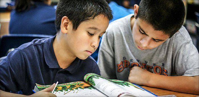 Blueprint helps improve the life outcomes of students in low-performing schools.
